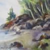ACADIA SHORE 11x15 unframed.........................$175