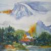 HALF DOME in the Mist 11x15 unframed....................$175