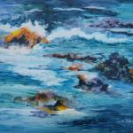 TIDE RUSH Series  No. 5 20x26 unframed......................$520